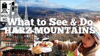 Quedlinburg, wernigerode, goslar, brochen mountain, the steam trains, there is so much to see and do in harz mountains germany, yet very few non-germa...