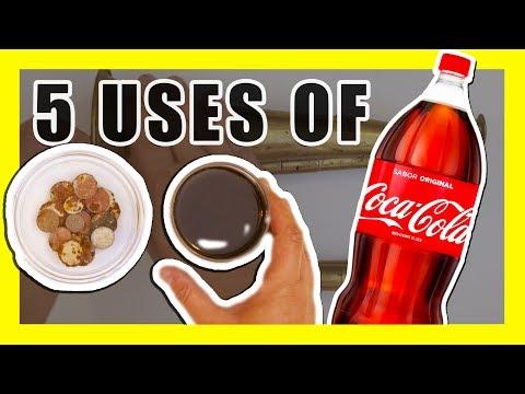 5 Unusual Uses of Coca Cola [Life Hacks]