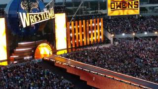 Wrestlemania 33 Kevin Owens entrance 4/2/17