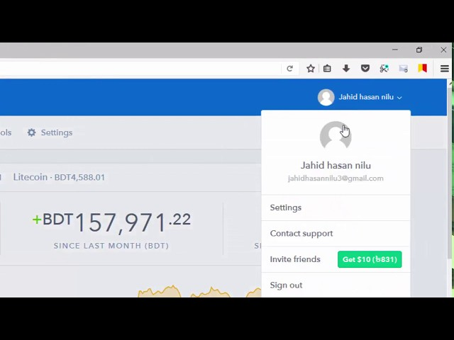 how to create a coinbase  account