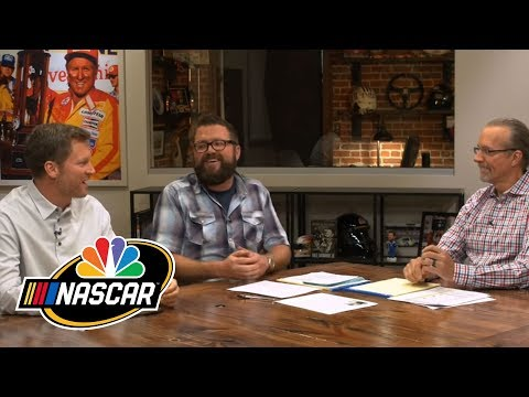 Dale Jr. describes how NASCAR drivers talk to others after causing wreck I NASCAR | NBC Sports