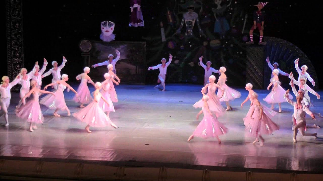 Щелкунчик балет вальс цветов