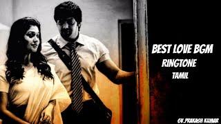Best love bgm ringtone tamil   best love whatsapp status    Raja Rani    Must use headphones