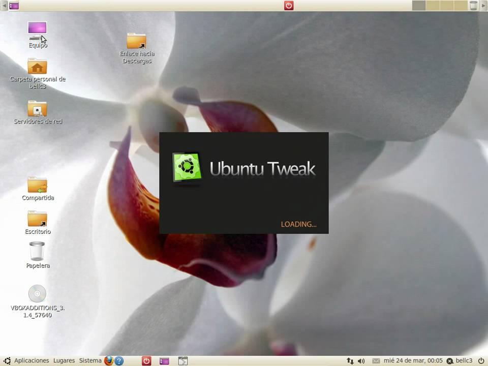 Ubuntu 10.04 Lucid Lynx cambiar botones Ubuntu Tweak - YouTube on