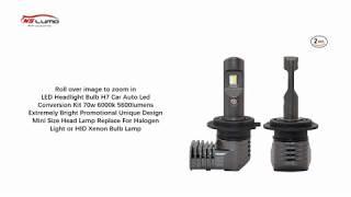 LED Headlight Bulb H7 Car Auto Led Conversion Kit