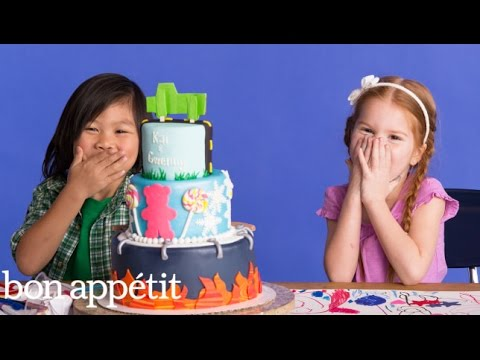 Gwenny and Kai Imagine Their Dream Cake | Most Amazingest Cakes