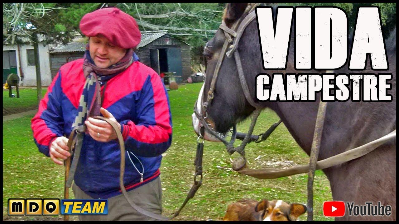 """VIDA CAMPESTRE #2 - con el PELUQUERO """"NO ES PESCA"""""""