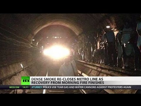 Moscow Metro Fire: Dozens injured, thousands evacuated from subway
