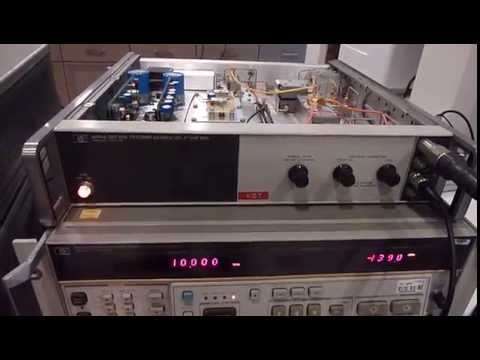 Update: HP8568B Spectrum Analyzer with the HP8444A Tracking Generator