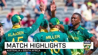 Australia v South Africa, first ODI