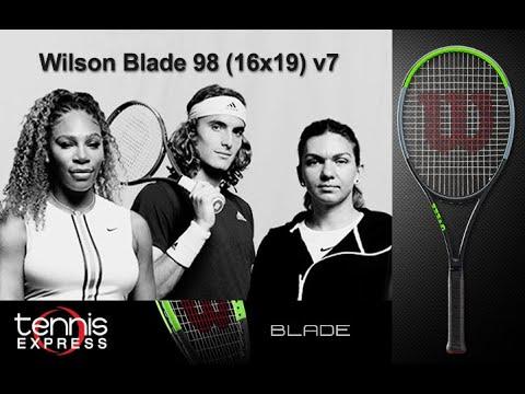 Wilson Blade 98 (16x19) v7 Tennis Racquet Review | Tennis Express
