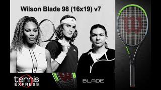 Wilson Blade 98 (16x19) v7 Tennis Racquet Review   Tennis Express