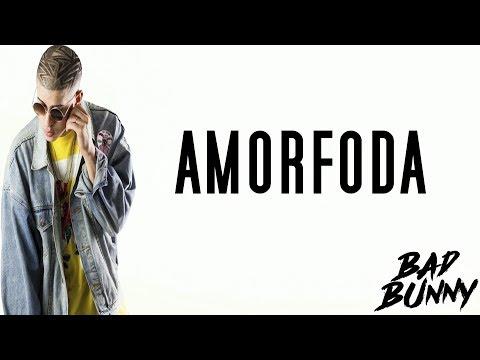 Bad Bunny - Amor Foda - Karaoke - Letra