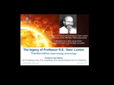 2017 Luxton Memorial Lecture