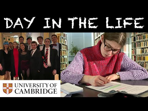 DAY IN THE LIFE OF A THIRD YEAR STUDENT AT THE UNIVERSITY OF CAMBRIDGE | let's get festive!