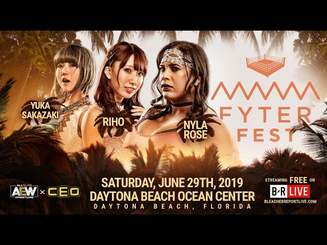 Brandi Rhodes talks about the Women's Triple Threat Match at #FyterFest