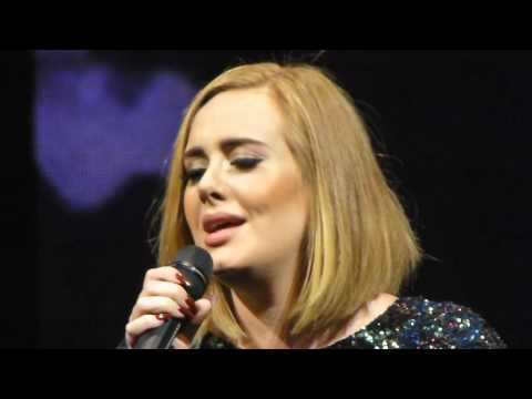 WHEN WE WERE YOUNG - Live - Adele @ San Jose, CA SAP Center, 7/31/2016