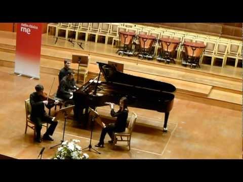 Nino Rota - Trio for flute, violin and piano. 2nd movement
