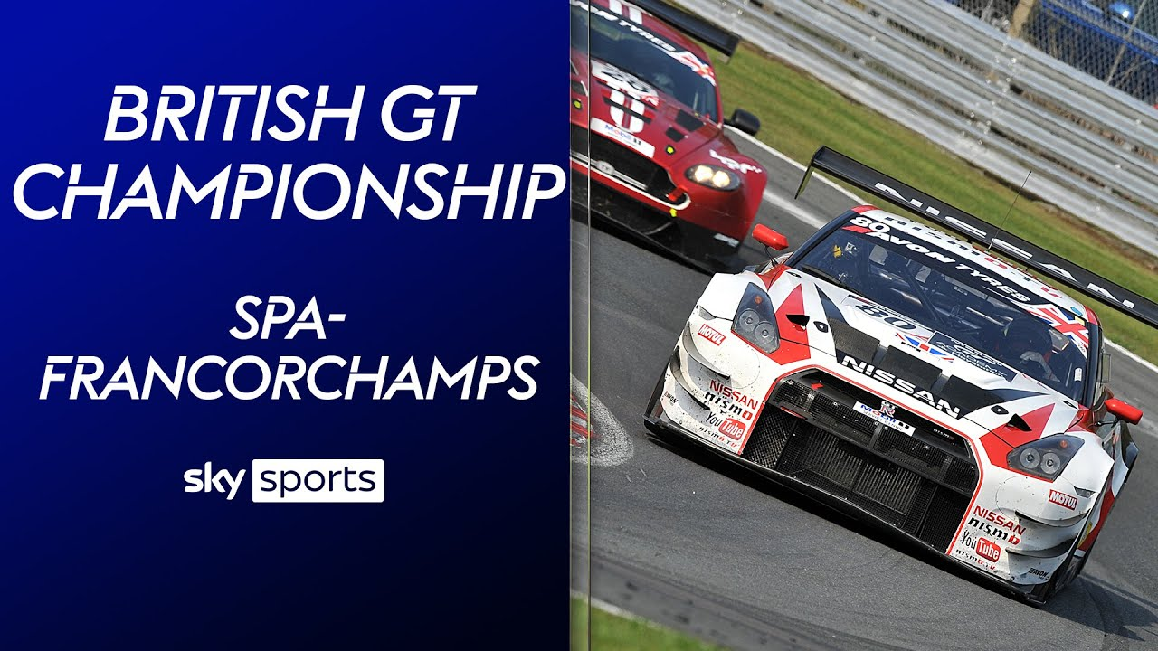 LIVE! British GT Championship - Spa-Francorchamps | British GT Championship