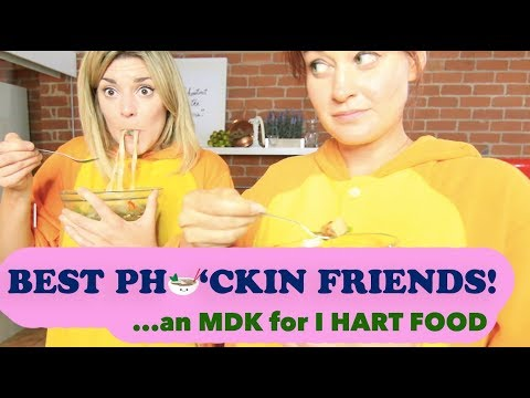 BEST PHO'CKIN FRIENDS: Grace and I attempt a  'My Drunk Kitchen'!