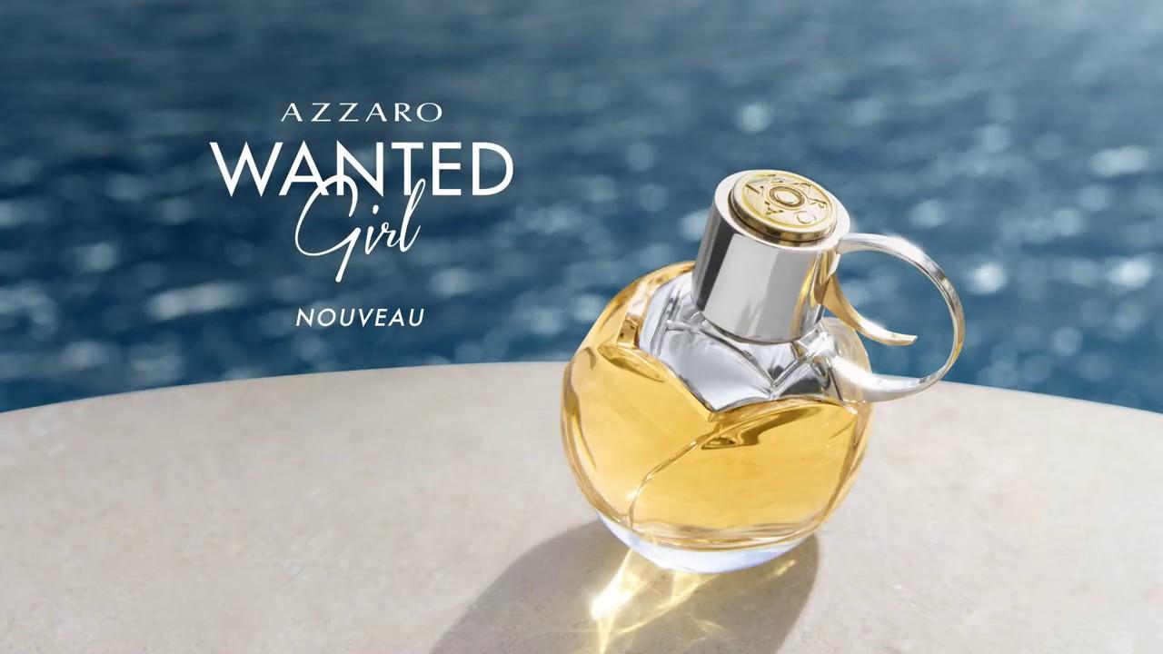 La nouvelle Wanted Girl d'Azzaro se révèle dans une publicité inédite -  Tendance Parfums : Le blog