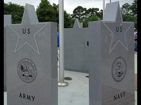 Pointe Coupee Parish Veterans Memorial Dedication Ceremony June 18, 2016