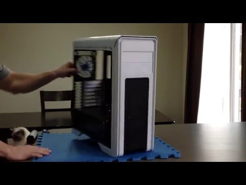 DIYPC Jax11-W White USB 3.0 ATX Mid Tower Computer Case with Pre-installed Fan