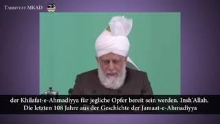 Tag des Khilafat - Folge dem Kalifen - Freitagsansprache 27. Mai 2016