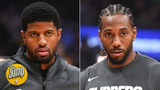 Kawhi Leonard and Paul George haven't even practiced offense together, Doc Rivers said | The Jump