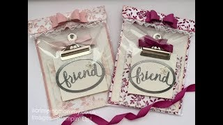 Download Craft Fair Idea Pretty Post It Notes And Holder Mp3