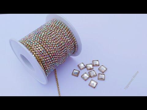 How To Make Designer Earrings At Home | DIY | Paper Earrings | Jewelry Making | uppunutihome