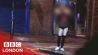 Sex workers are being trafficked in north London - BBC London