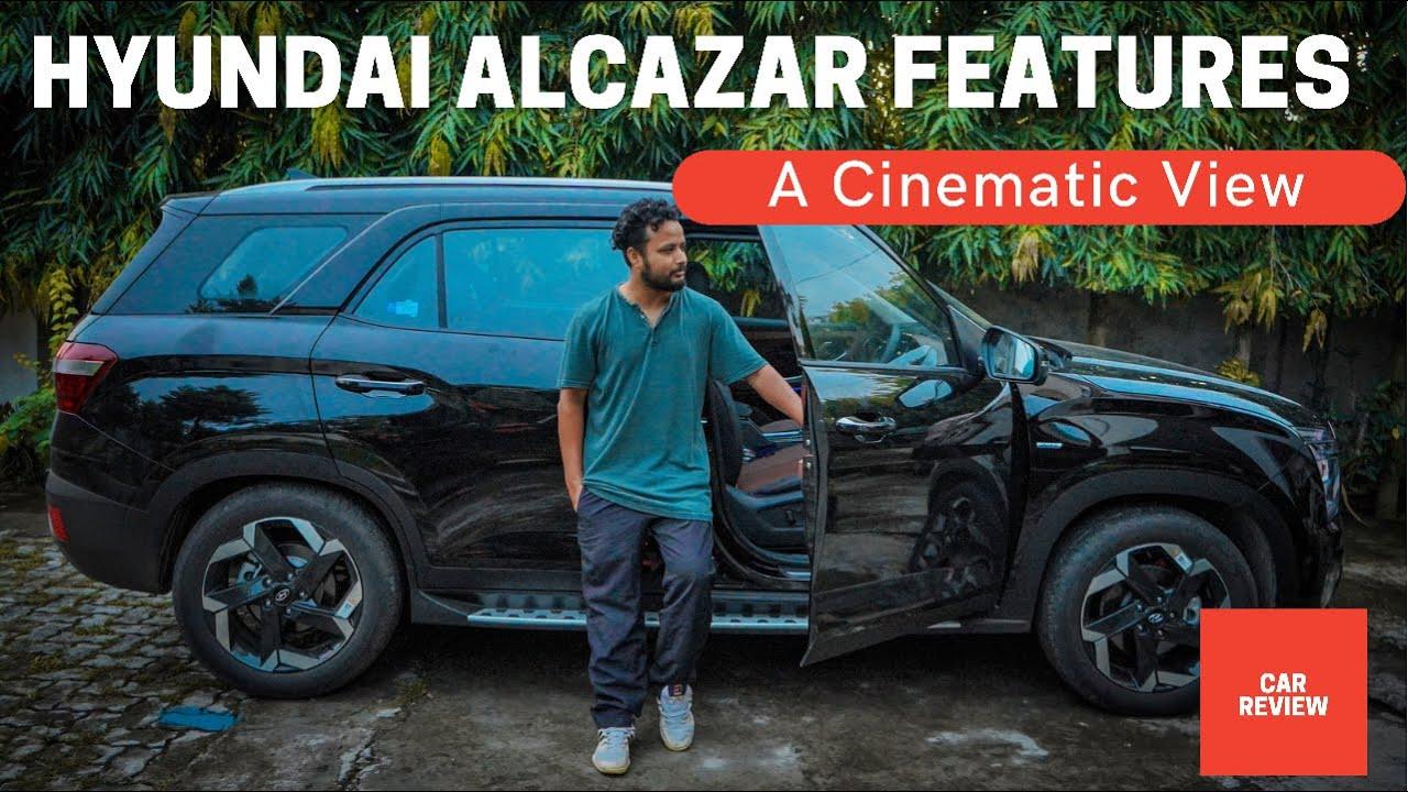 Hyundai Alcazar Signature Features in Cinematic Details 🔥 #hyundai #alcazar @HyundaiIndia