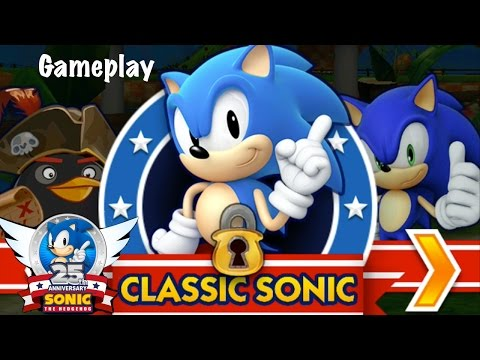 Sonic Dash Classic Sonic Gameplay