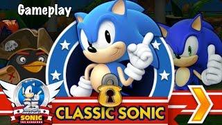 Sonic Dash Classic Sonic Gameplay
