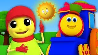 鲍勃列车 | Incy Wincy 的蜘蛛 | 给孩子们的歌 | 中国童谣 | 孩子们的学前歌曲 | Bob The Train Itsy Bitsy Spider | Kids Tv China