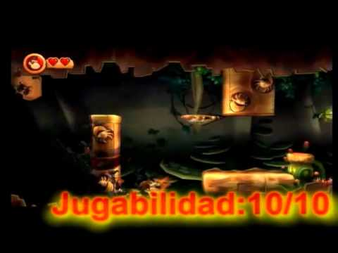 Critica Y analisis a Donkey Kong Country returns(Wii)