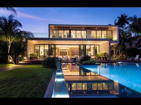 Miami Beach Waterfront House on Pine Tree Dr