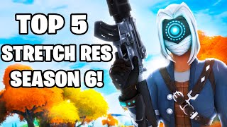 Top 5 Stretch resolขtions for Fortnite Season 6!! Get better Aim & FPS!
