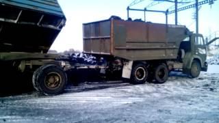 КАМАЗ 55111 совок