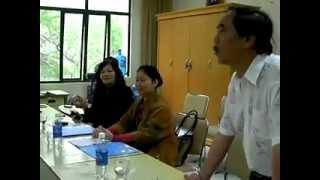 Buổi học Ca Huế -NSUT Lài Tâm hướng dẫn