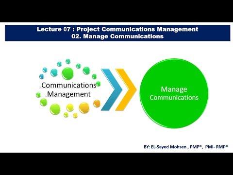 2-  Manage Communications