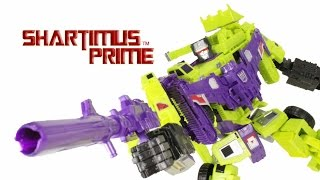 Transformers Combiner Wars Devastator 2015 Hasbro 18 Inch Retail Version G1 Toy Action Figure Review