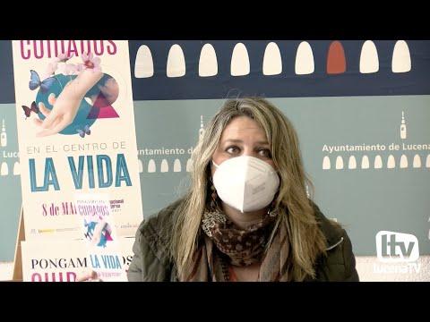VÍDEO: Presentación de los actos conmemorativos del Día Internacional de la Mujer en Lucena