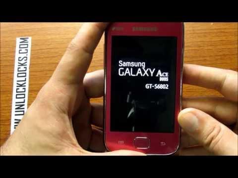How To Unlock Samsung GALAXY Ace DUOS GT-S6802 By Unlock Code From UnlockLocks.COM
