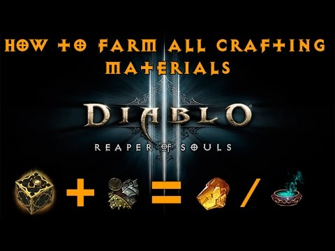 How to farm Reusable Parts / All Crafting Material in Diablo 3 Season 10 (2.5k-3k/hr)