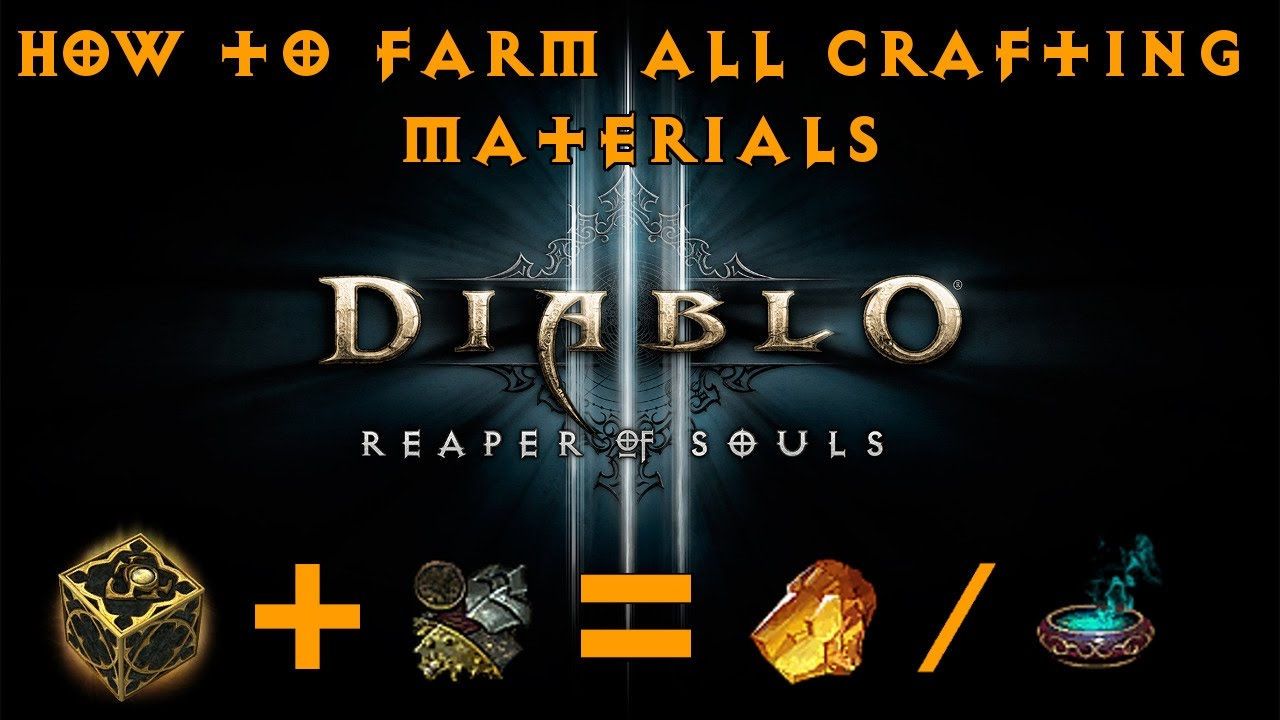 diablo 3 material farming