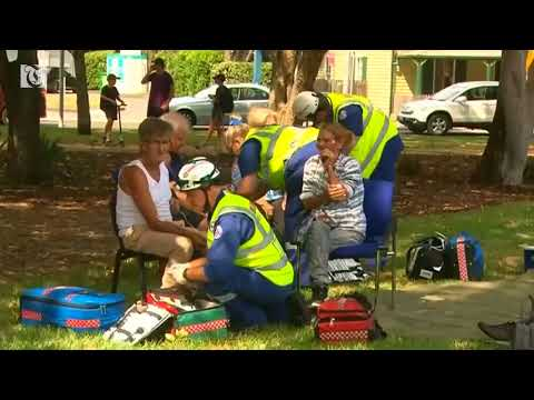 Fifteen people hospitalised in Sydney train crash