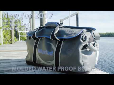 "The new Mustad MB015 24"" boat carbon bag"