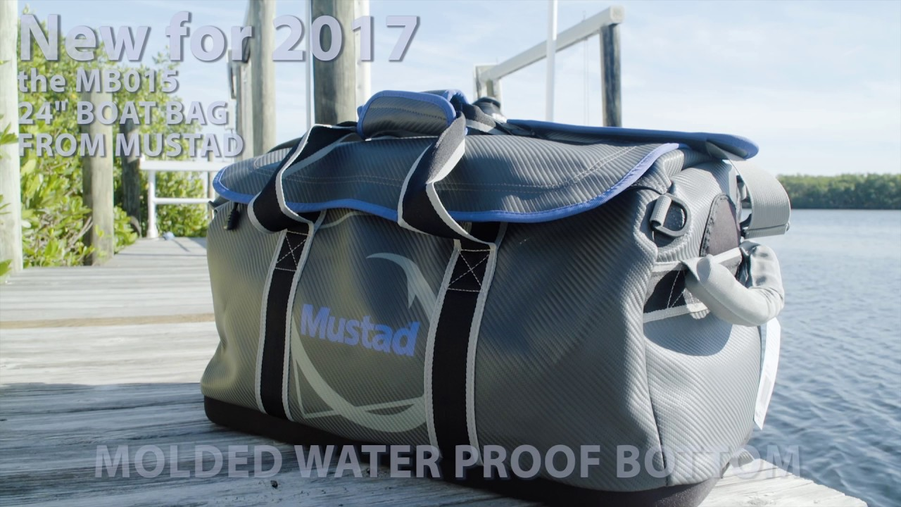 The New Mustad Mb015 24 Boat Carbon Bag
